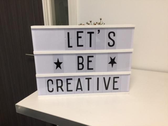 Creativiteit maakt werken leuker