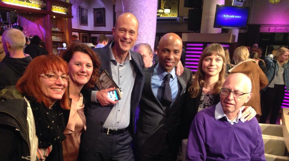 Film en Congres Mijn Hoofd in Eigen Hand bij RTL Late Night