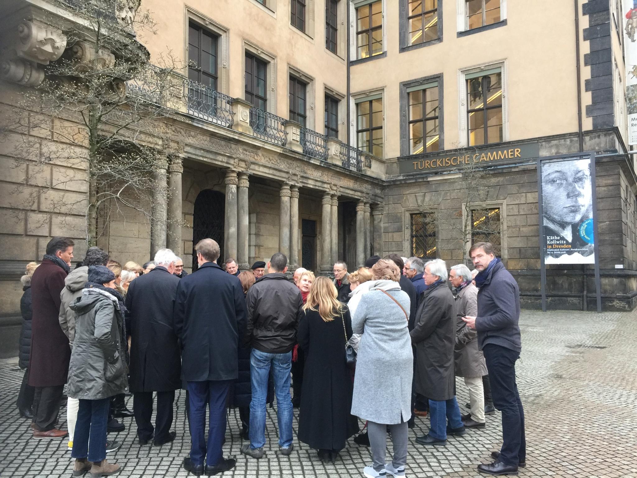 Historisch Dresden als lokatie voor AAEU17