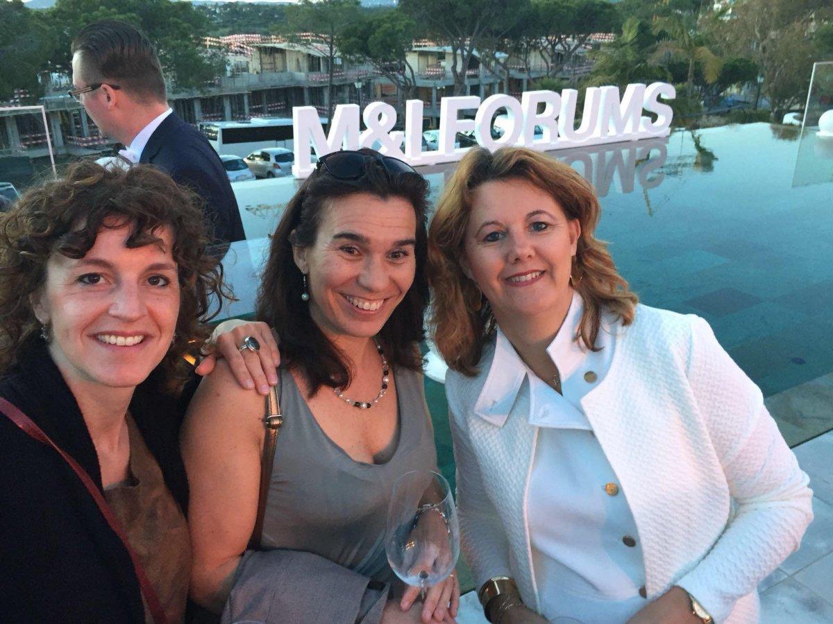 Ideeën en contacten opdoen in Algarve
