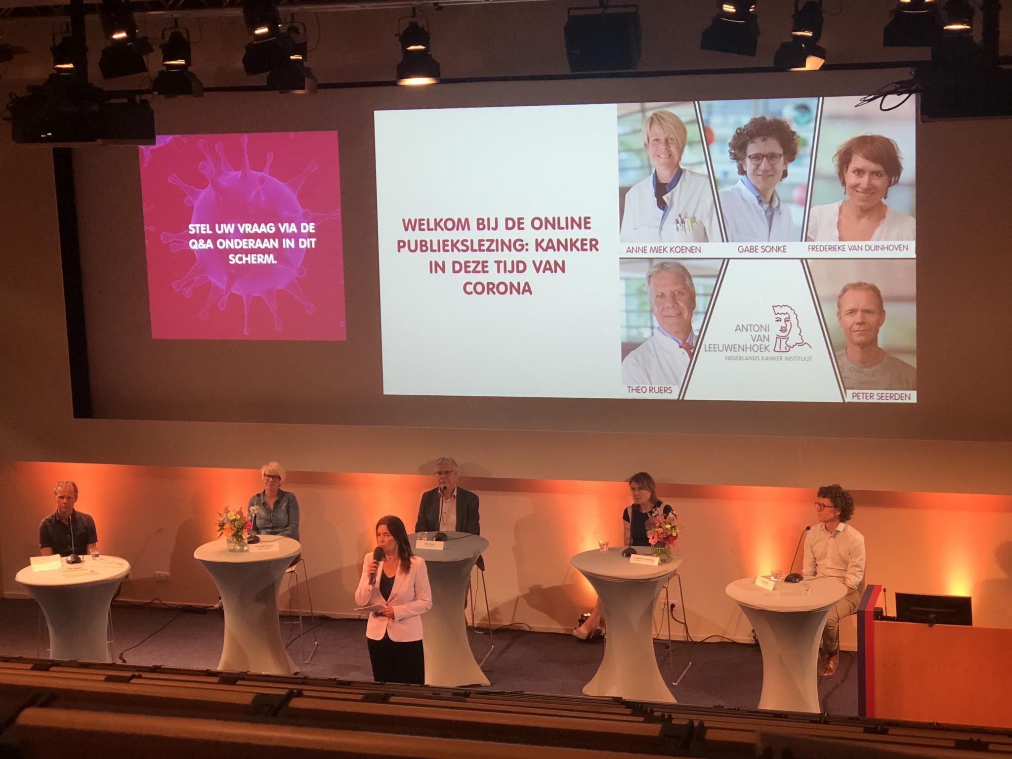 Onzekerheid wegnemen bij patiënten met kanker door webinar AVL
